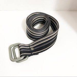 GAP webbed Double ring belt